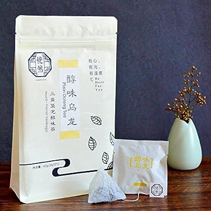 Chinesischer-Oolong-Tee-EU-Bio-zertifiziert-Nirvana-Teahouse-21-x-3g-Teebeutel-Pyramidenbeutel-Groe-Teebltter-aus-kontrolliertem-Anbau-Organic