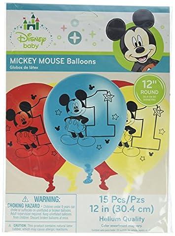 Micky Maus Spaß zu einem Geburtstag Ballons 15ct