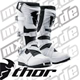Thor Ratchet Boots , Distinct Name: White, Size: 7, Gender: Mens/Unisex, Primary Color: White 3410-0746
