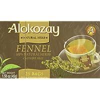 Alokozay Heat Seal Sachets Fennel Tea Bags, 25 Bags