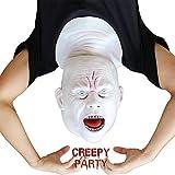 CreepyParty - Maschera per Halloween in lattice con maschera intera