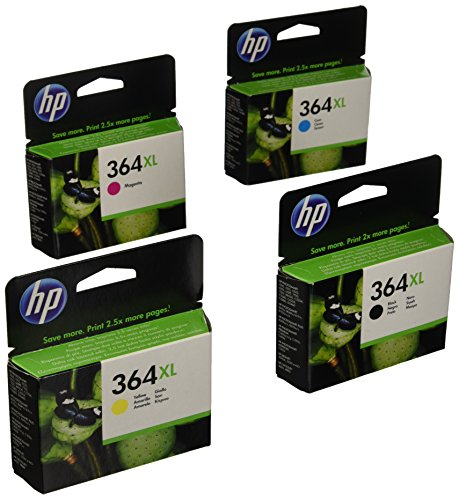 Hewlett Packard No.364XL Value Pack Ink Cartridges Genuine