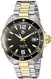 TAG Heuer Herren-Armbanduhr 41mm Armband Zweifärbiger Edelstahl Zwei Ton Schweizer