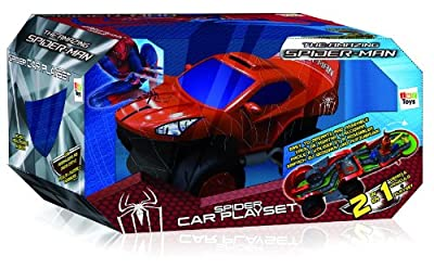 Imc Toys - Coche Spidercar Playset Transformable Con Looping 43-550735 por Imc Toys