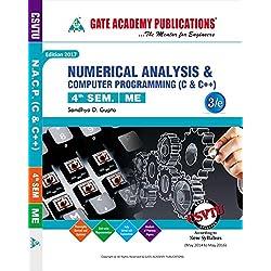 Numerical Analysis & Computer Program & Computer Programming (c& c++)