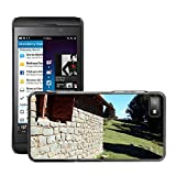 Sólo del estilo caliente teléfono móvil PC carcasa // M00138860 paisaje refugio cabaña párvula // BlackBerry Z10