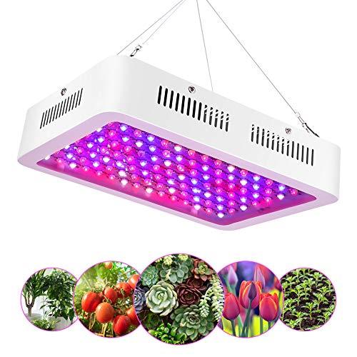 1200W LED Horticole Lampe, Lampe de Croissance des Plantes à Spectre Complet à 120 LEDs avec...