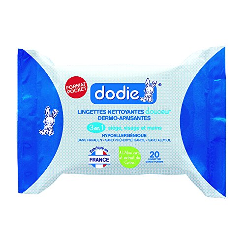 Dodie 2601000 Salviette 3-In-1 Formato Pocket
