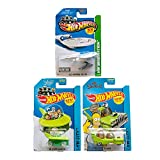 Hot Wheels U.S.S Enterprise NCC 1701 StarTrek & The Jetsons Capsule Car & The Homer Simpsons HW Imagination & HW City Pack 3
