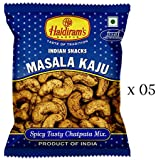 Haldiram's Nagpur Masala Kaju (Pack Of 5)