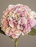 Aufrechtzuerhalten,Künstliche Blumen, lila Herbst hyfrangeas künstliche Blumen