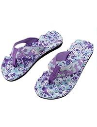 Morwind Chanclas Mujer, Sandalias Antideslizantes de Verano Chanclas Zapatos de Playa Calzado Mujer Cuñas Zapatillas Chancletas Zuecos Sanitarios Mujer Antideslizante