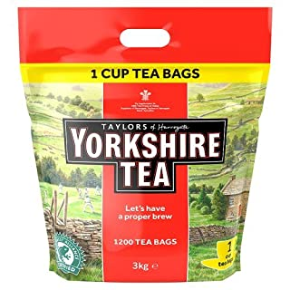 Yorkshire Tea, One Cup Tea Bags 3 Kg