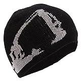 Caterpillar Childrens/Kids Digger Design Knitted Beanie Hat