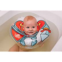 Aleta, flotador anillo inflable de PVC para bebé con correa para el hombro, ...