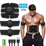 YUHAIJIE Addominale Muscolo stimolatore Muscolare Toning Cinghie Home Workout Fitness-Dispositivo per