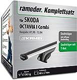 KAMEI Rameder komplett-Set Relingträger Dachträger für Skoda Octavia Combi (135344â–Â 03560â–Â 9)