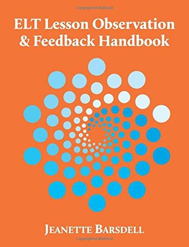 ELT Lesson Observation & Feedback Handbook por Jeanette Barsdell