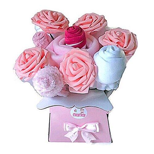 3ad30dda0b4ad Bébé Fille nouveau-né Bouquet de vêtements pour bébé Douche Nouvelle Maman  Cadeau de grossesse