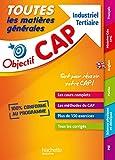 Toutes les matières générales CAP Industriel Tertiaire