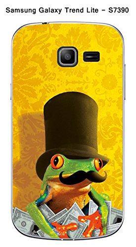 Coque Grenouille Moustache pour Samsung Galaxy Trend Lite S7390