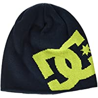 DC Shoes Big Star Gorro, Hombre, Azul (Insignia Blue Solid), Talla Única