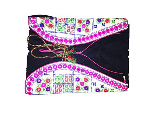 Kanchan Silk Cotton Saree With Blouse Piece (SWTBLU_SWATI BLUE_Free Size)