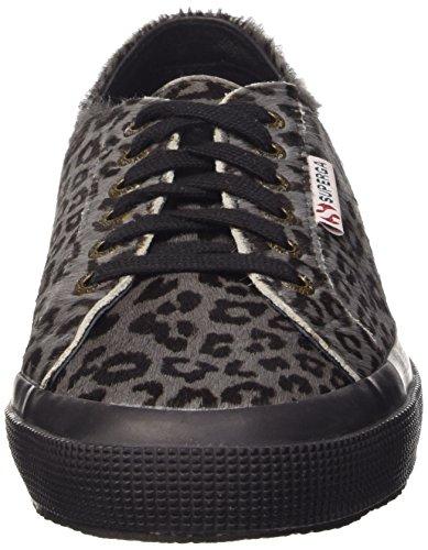 Superga Unisex-Erwachsene 2750-Leahorseu Sneaker Mehrfarbig - Multicolore (L78 Leopard Black)