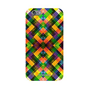 HomeSoGood Random Colored Boxes Multicolor 3D Mobile Case For iPhone 6 (Back Cover)