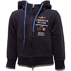 0463R Felpa bimbo AERONAUTICA MILITARE felpe maglie kids sweatshirts [2 YEARS]