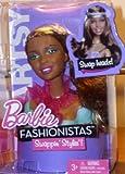 Barbie–t9129–Zubehör für Puppe Fashionista–Kopf abnehmbar Mix & Style–Metis