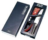 Global G-2220BR Kochmesser MinoSharp G2 + Schleifer schwarz/rot