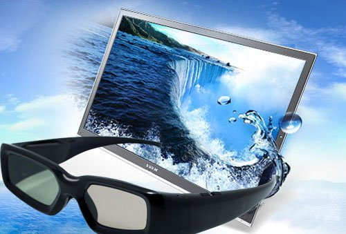 4 x UNIVERSAL Gafas 3D con obturador para Sony, Panasonic,