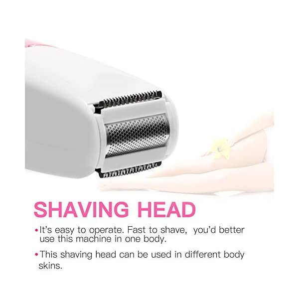 Lady Shaver Women Facial Hair Remover Bikini Trimmer 5 In 1 USB Rechargeable Epilator For Face Nose Eyebrow Body Arms Legs Armpit