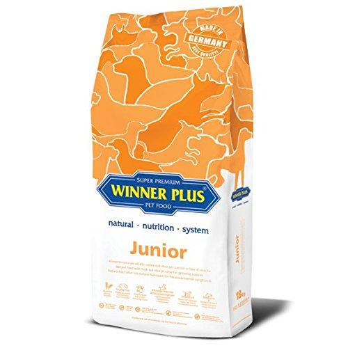 WINNER PLUS Junior 3 kg - Alimento naturale ad alto valore nutritivo per cuccioli in fase di crescita