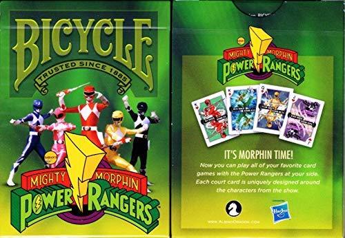 Albino Dragon Power Rangers Fahrradspielkarten Pokergröße Deck USPCC Custom Limited (Power Ranger Custom)