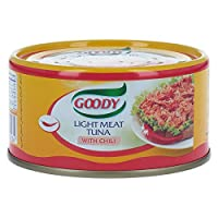 ‏‪Goody Light Meat Tuna With Chili - 185gm‬‏