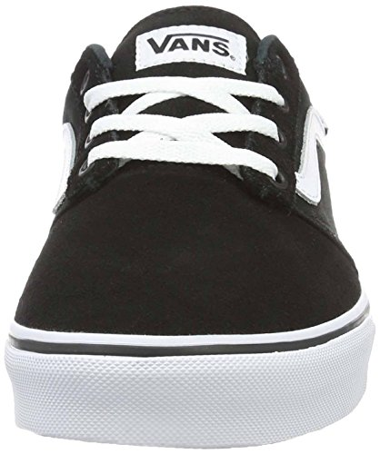 Vans Mn Chapman Stripe, Sneakers Basses Homme Noir (Suede Canvas Black/white)