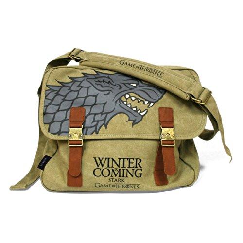 game of thrones steelbook staffel 3 Game Of Thrones Stark Messenger Bag beige