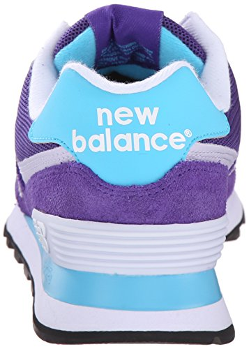 New Balance Damen Wl574v1 Sneakers Violett (Purple)