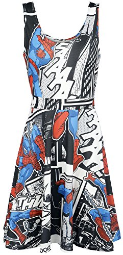 Spiderman Spider-Man Comic Strip Dress multicolour
