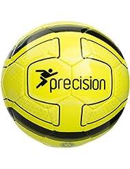 Precision Santos balón Fluo amarillo/negro tamaño 3