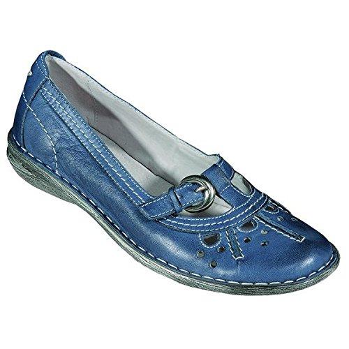 Sportif 200481 zen chaussures pour femme Bleu - Bleu