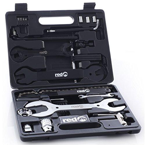 Red Cycling Products Toolbox Werkzeugkoffer 33 tlg. 2018 Fahrrad-werkzeug