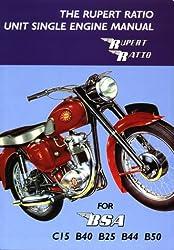 Rupert Ratio Unit Single Engine Manual for BSA C15, B40, B25