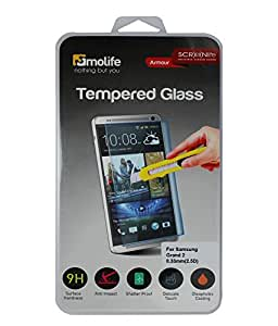 Molife Tempered Glass For Samsung Galaxy Grand 2 (Transparent)