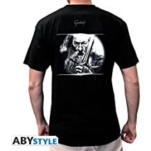 ABYstyle abystyleabytex196-xxl Abysse el Hobbit Gandalf y Epee de manga corta Hombre basic camiseta (2x -Large)