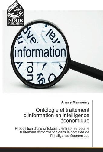 Ontologie et traitement d'information en intelligence économique