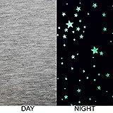 Leuchtet Im Dunkeln Baumwolle Jersey Stretch Stoff - Mond