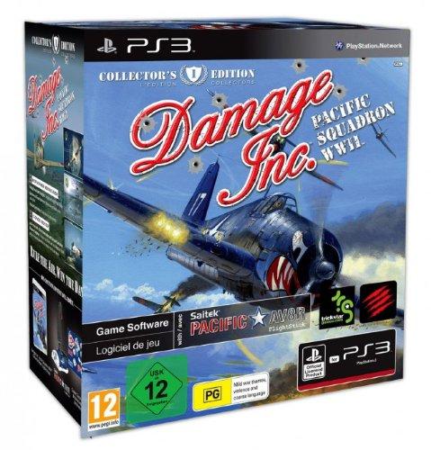 Damage Inc. Pacific Squadron WW2 Collectors Edition inkl Joystick